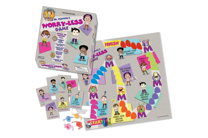 Dr. PlayWell's Worry Less Board Game
