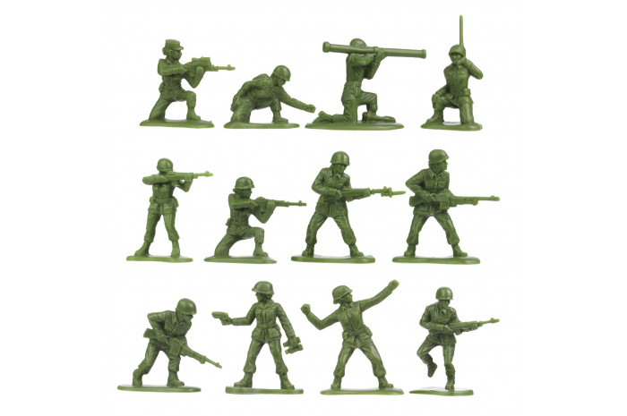36 pieces Green Army Women