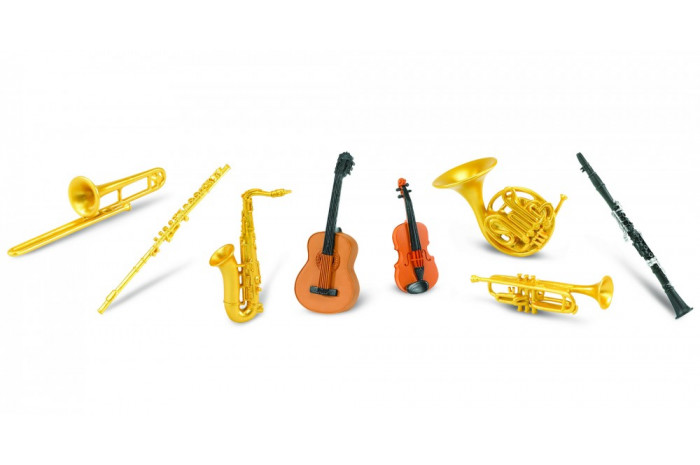Musical Instruments Toob (8 Piece)