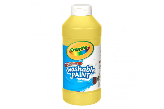 Washable Paint 16-oz - Yellow