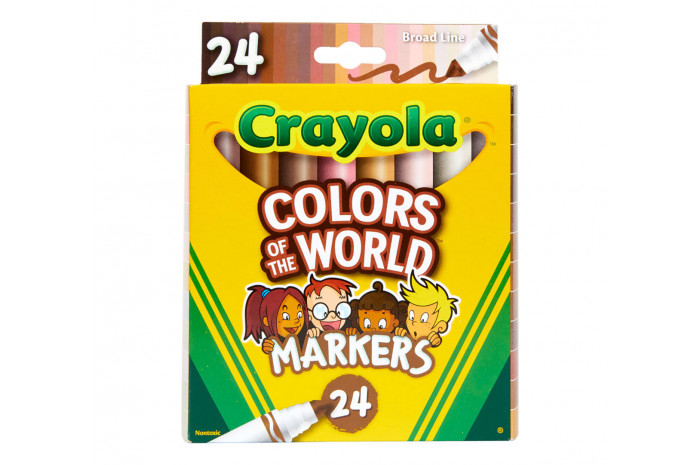Colors of the World Washable Markers