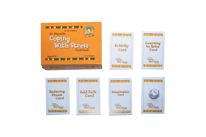 Dr. PlayWell's Coping With Stress Card Game