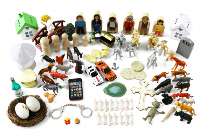 Sandplay Miniature Basic Starter Kit