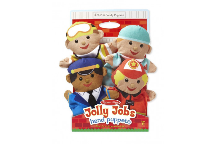 Jolly Jobs Hand Puppets Set