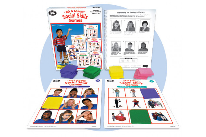 Ask and Answer Social Skills Games