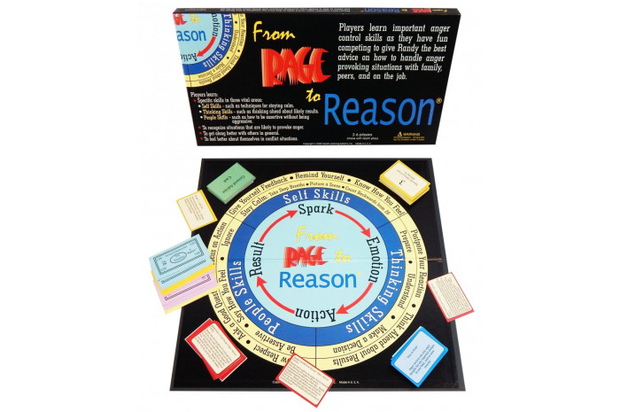 From Rage to Reason Anger Control Board Game