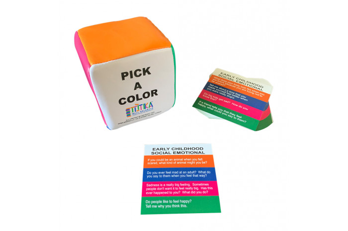 Totika Early Childhood Social Emotional Cube