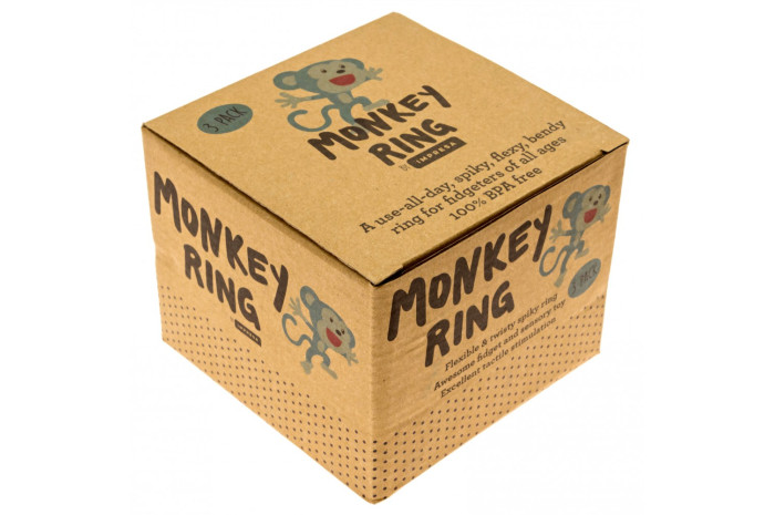 Monkey Rings (Set of 3)
