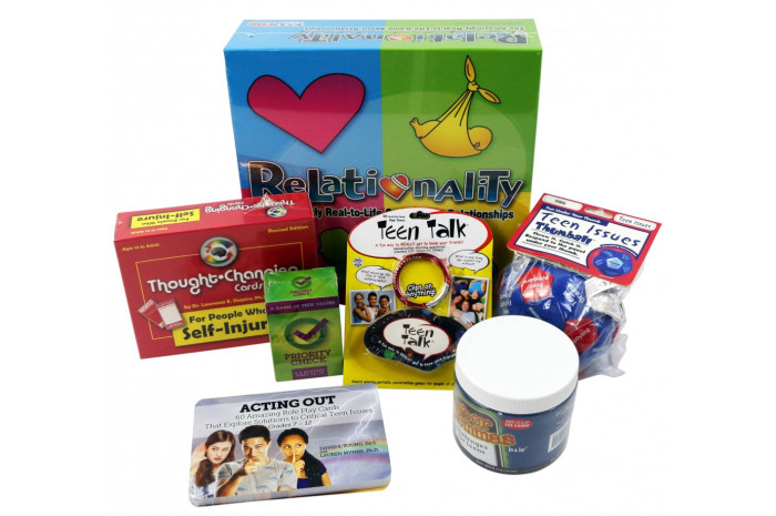 Teen Therapy Game Package