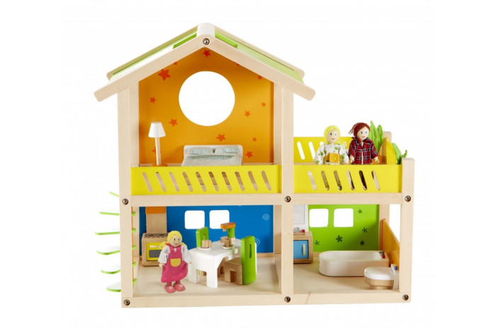 Happy Villa Dollhouse (Furnished)