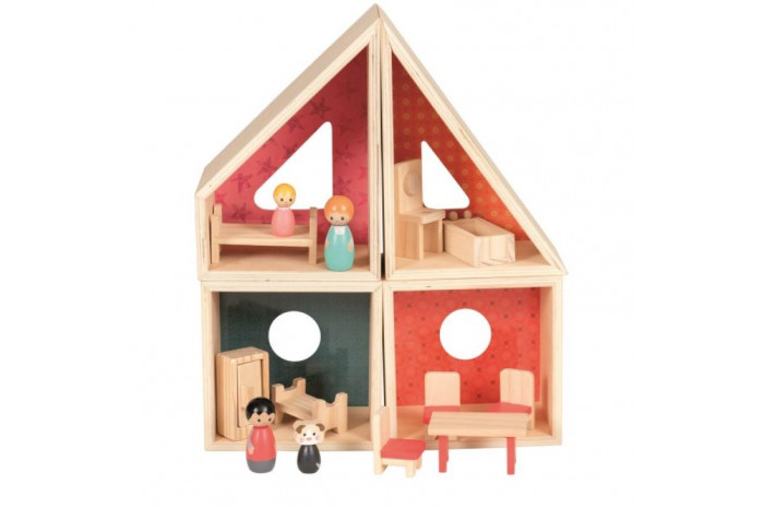 Gender Neutral Geometric Dollhouse