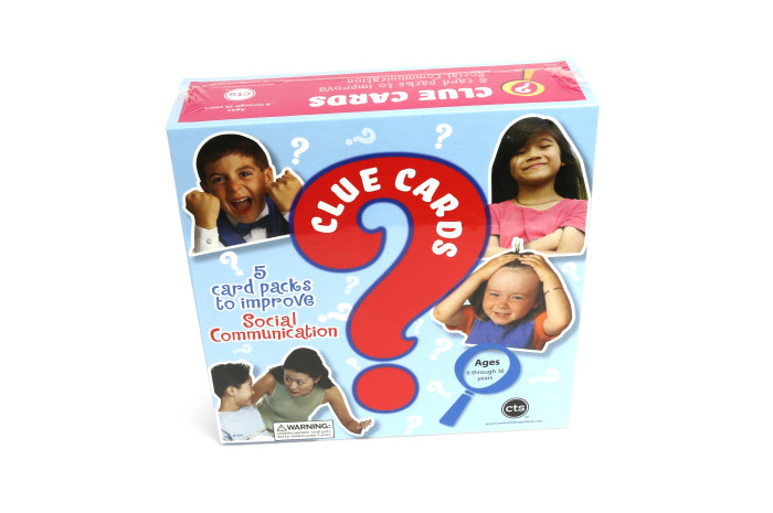 Clue Cards: 5 Card Packs to Improve Social Communication