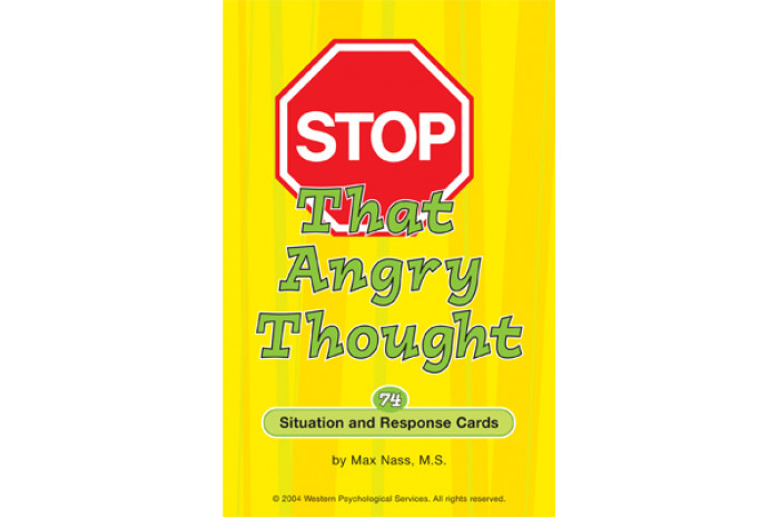 Stop That Angry Thought Cards
