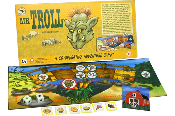 Mr Troll: A Co-operative Adventure Game