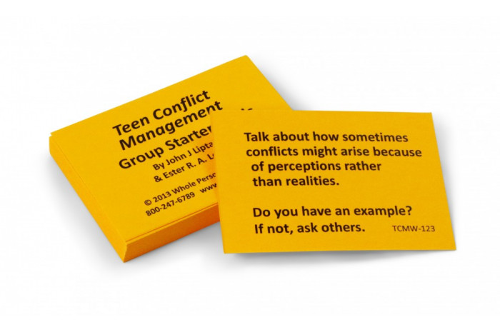 Teen Conflict Management Card Deck