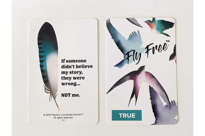 Fly Free: A Therapeutic Game for Teens and Adults Who Have Been Abused