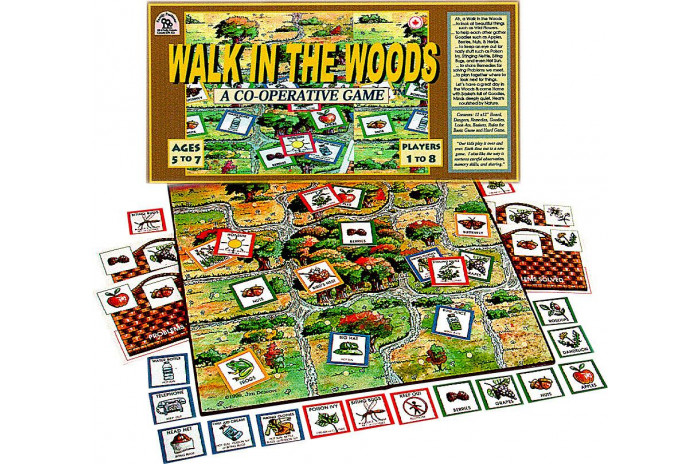 Walk in the Woods Board Game
