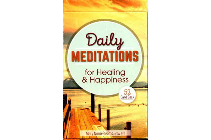 Daily Meditations for Healing and Happiness Cards
