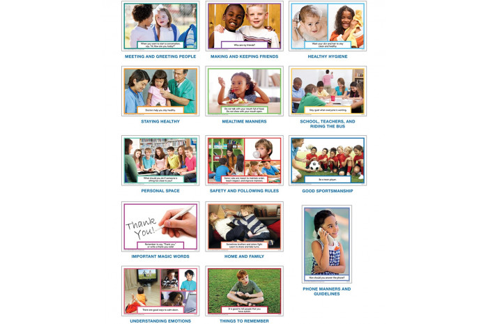 Photo Conversation Cards for Children on the Autism Spectrum