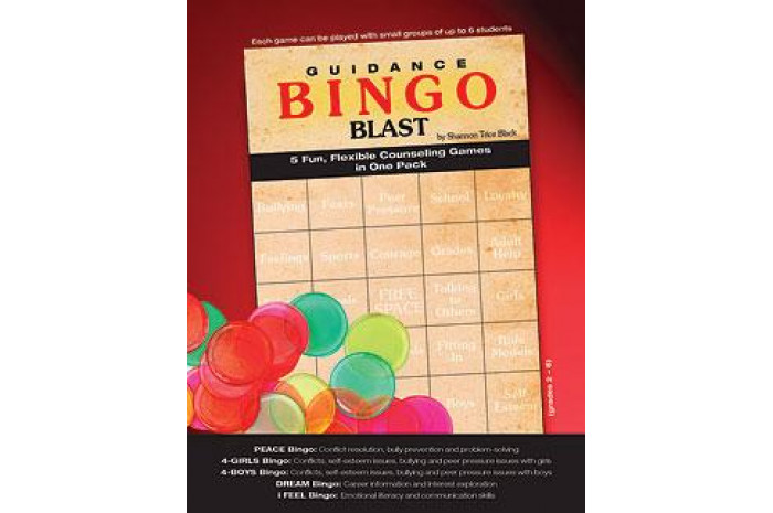 Bingo Blast - Five Fun Flexible Counseling Games in One