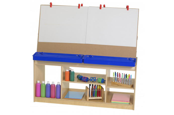 4 Station Art Easel with Storage