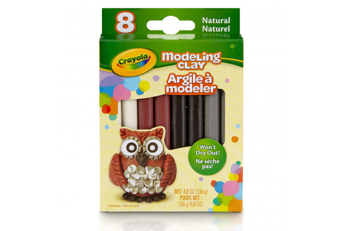 Crayola Modeling Clay Pack - Assorted Natural Colors