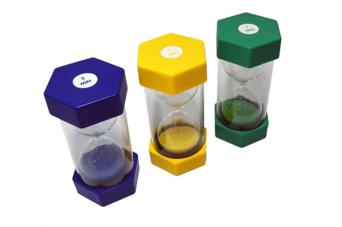 Deluxe Sand Timers (Set of 3)
