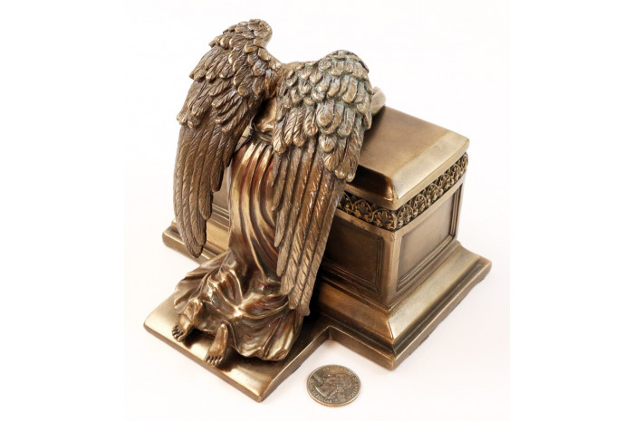 Bronze Mourning Angel