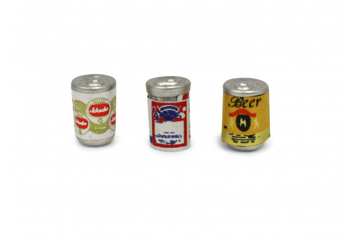 Tiny Beer Cans (Set of 3)