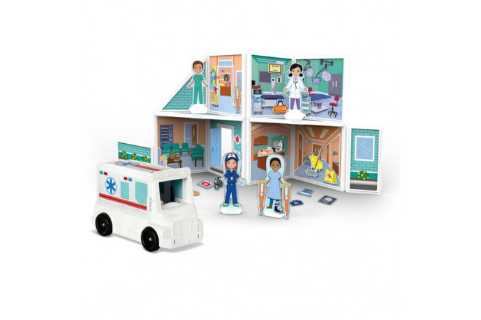 Magnetic Play Hospital