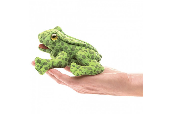 Mini Frog Finger Puppet