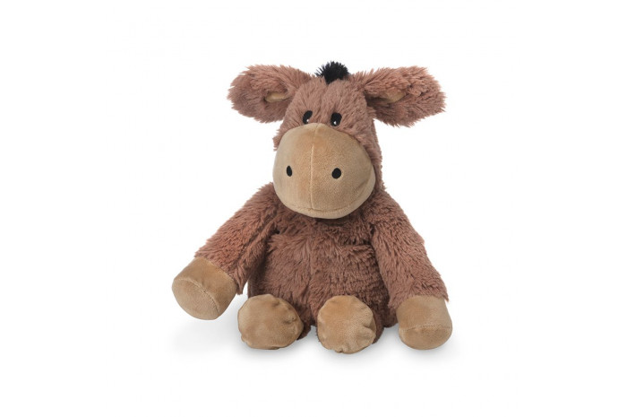 Warmies Lavender Scented Brown Donkey