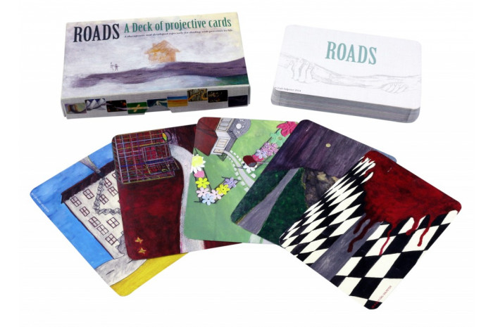 Roads: A Deck of Projective Cards