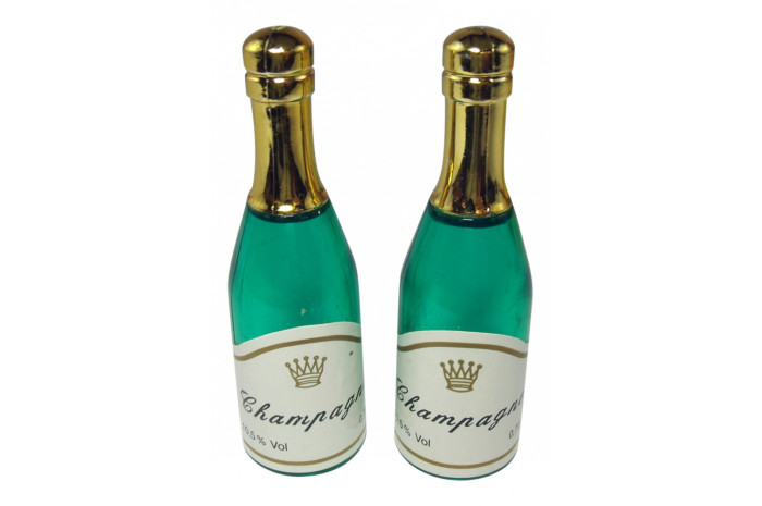 Champagne Bottles- Set of 2