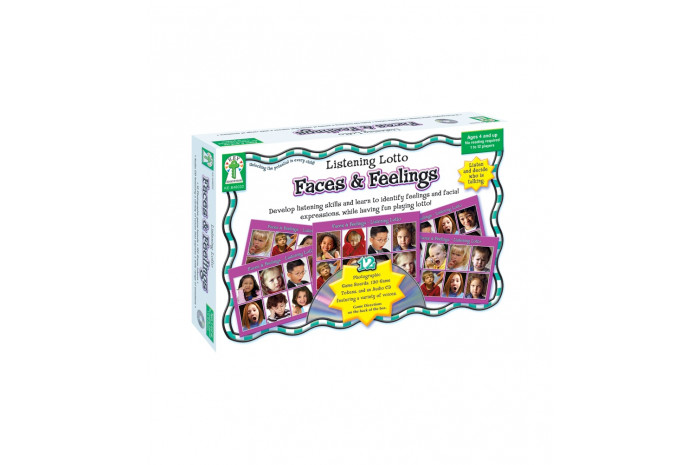 Listening Lotto: Faces and Feelings  Game