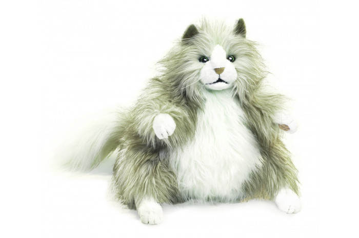 Fluffy Cat Hand Puppet