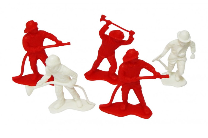 Economy Firefighters (Set of 5)