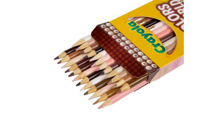 Colors of the World Skin Tone Colored Pencils