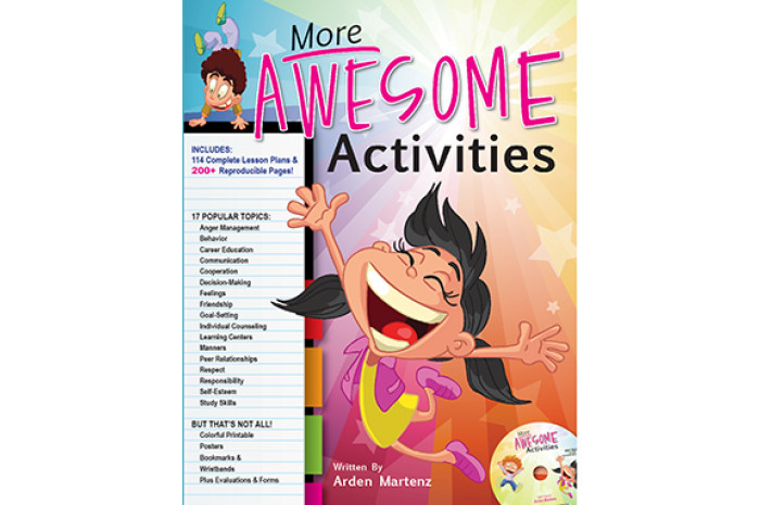 More Awesome Activities for Elementary School Counselors w/ CD