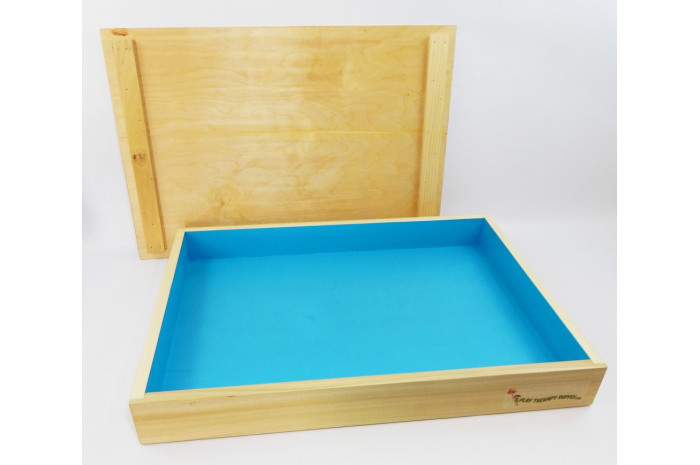 Basic Wooden Sand Tray with Stand Combo