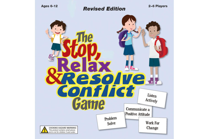 Stop Relax & Resolve Conflict Game
