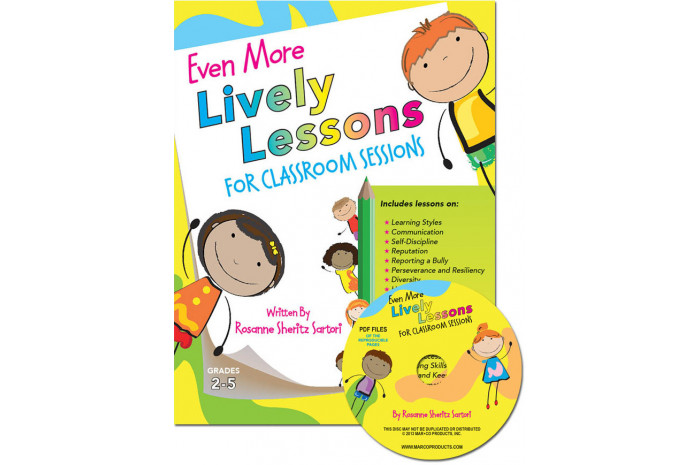 Even More Lively Lessons for Classroom Sessions with CD (Grades 2-5)