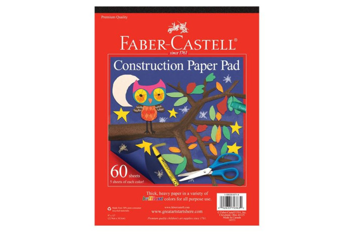 Faber Castel Construction Paper (60 Sheets)