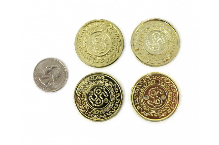 $ Sign Coins (Set of 4)
