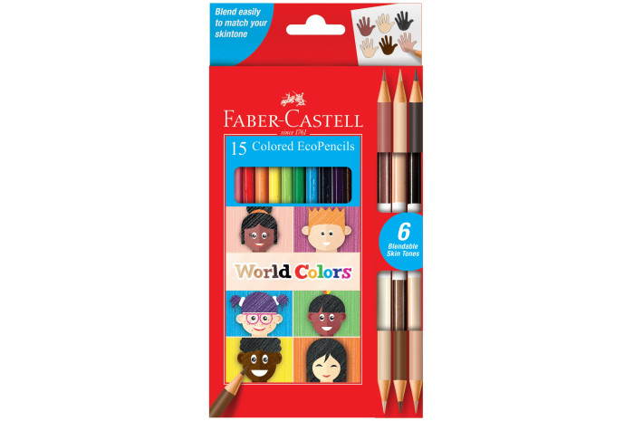 World Colors Colored Pencils 15 Count