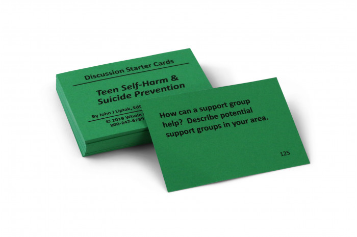 Teen Suicide & Self-Harm Prevention Card Deck