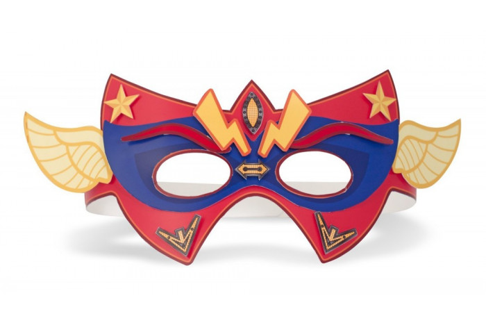 Design Your Own SuperHero Masks and Cuffs