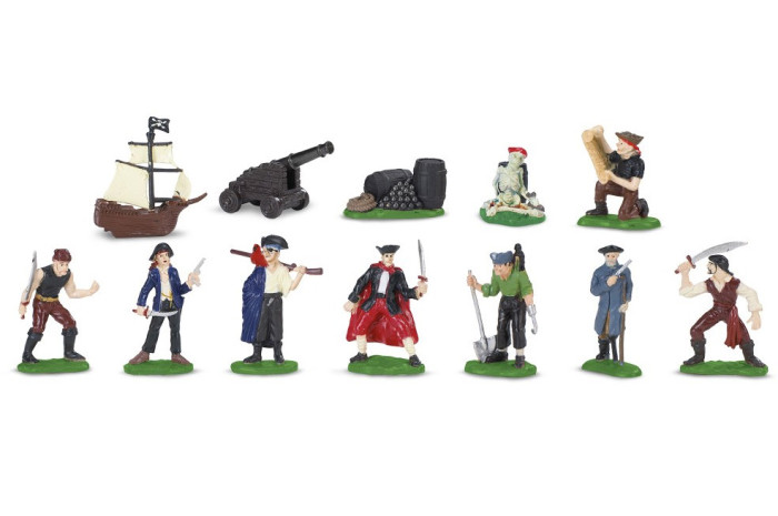 Pirates Toob- 12 Figurines