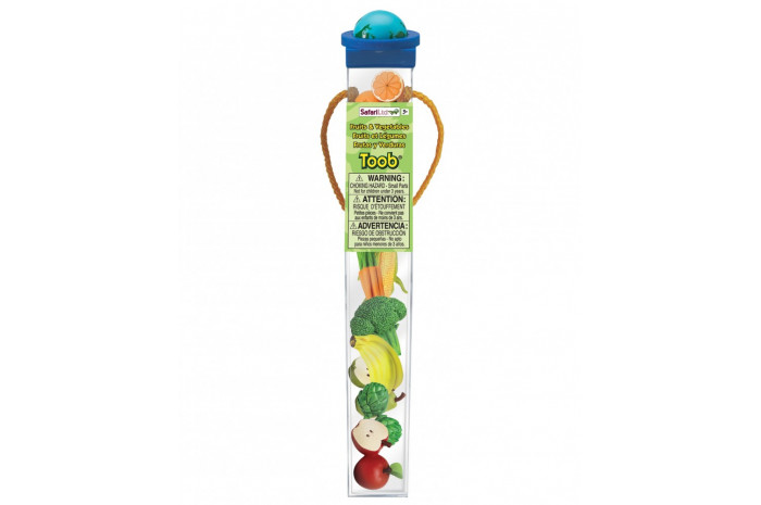 Fruits and Vegetables Toob- 8 piece