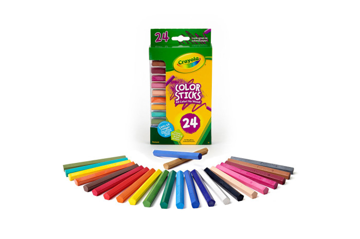 Color Sticks Colored Pencils (24 Count)